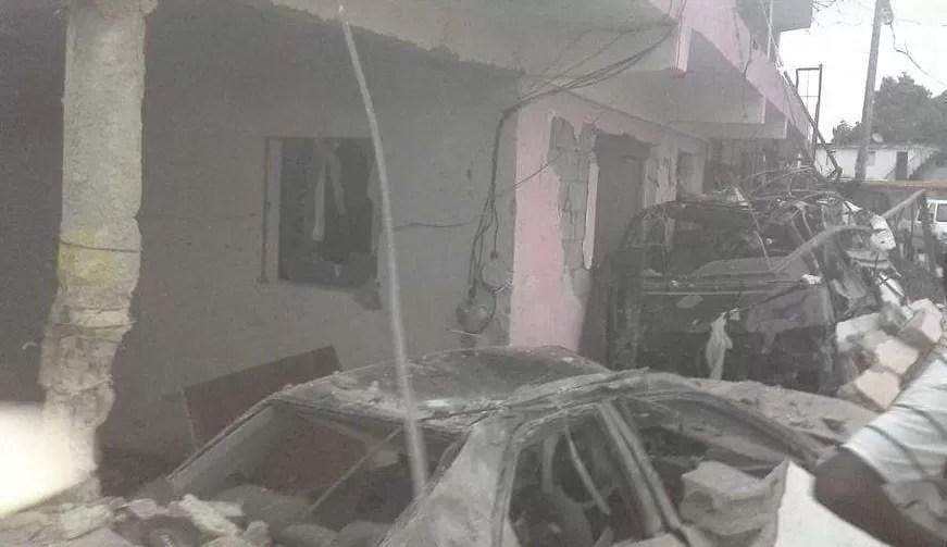 Otras imágenes de la planta de gas que explotó en Los Ríos