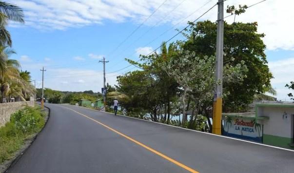 Carretera nueva