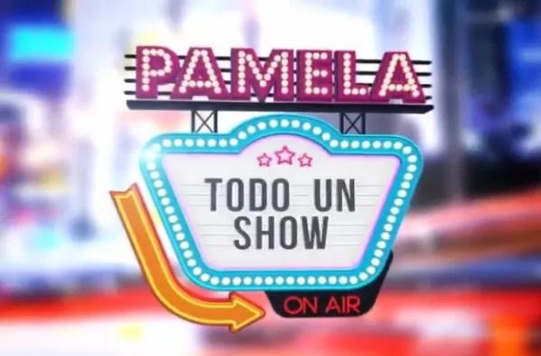 Pamela todo un show