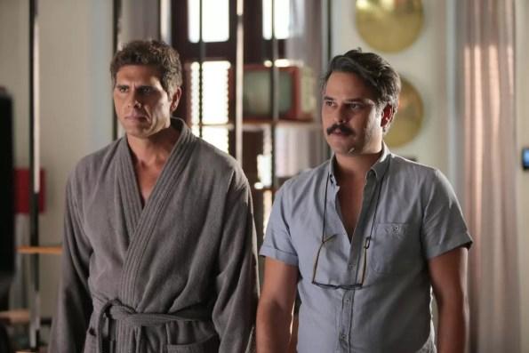 Christian Mejer y Frank Perozo