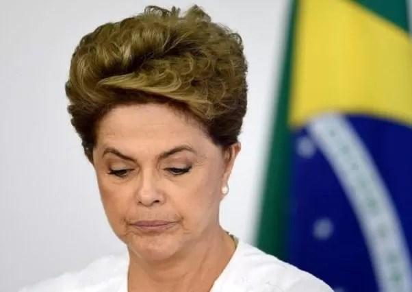 Dilma triste