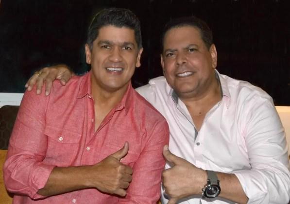 Eddy Herrera y Fernando Villalona