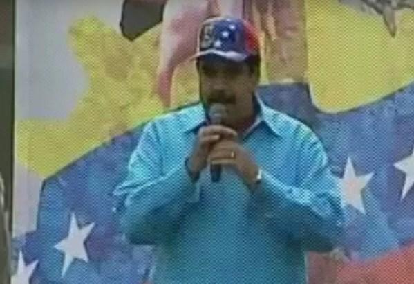 Maduro planta parada