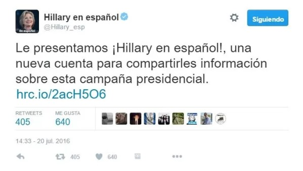 Hillary Twitter