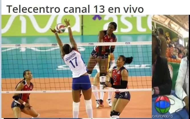 Transmisión en vivo República Dominicana vs Puerto Rico Copa Panamericana de voleibol