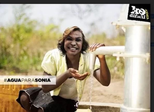 Agua para sonia