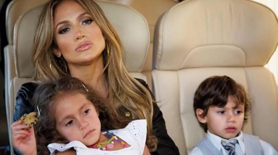 Los hijos de Jennifer López piden cita para poder ver a su ...
