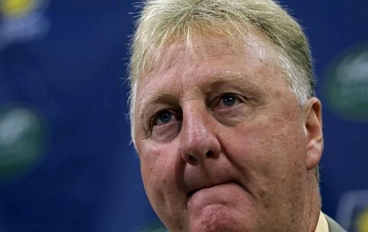 Larry Bird renuncia como presidente de los Indiana Pacers