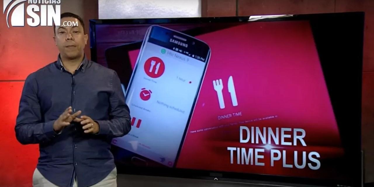 Aplicación para bloquear celulares a los menores en la hora del almuerzo