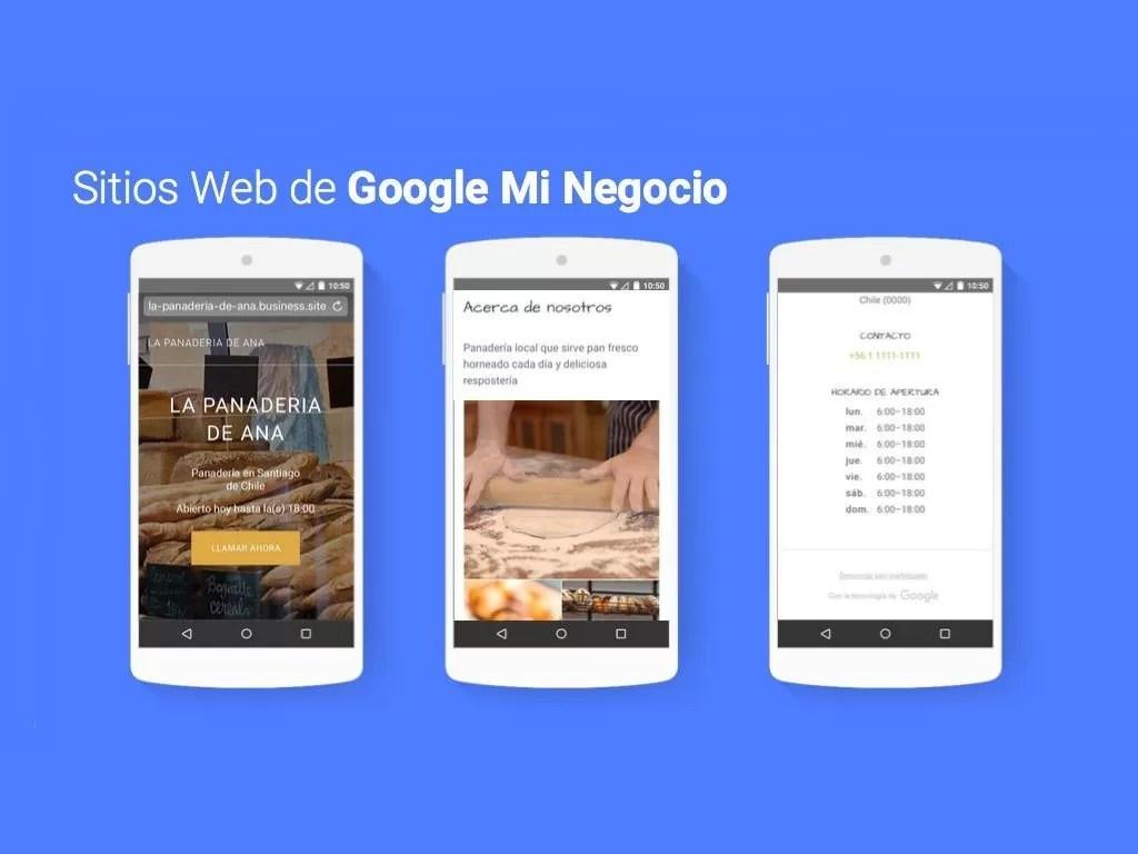 Crea gratis una página web para tu empresa con Google mi negocio ...
