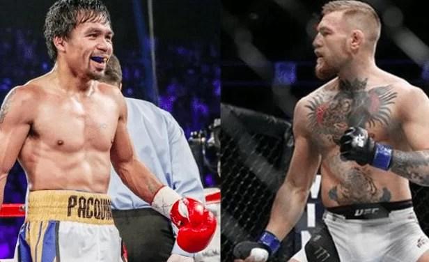 Pacquiao reta a McGregor a un combate en 2018