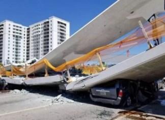 Un ingeniero advirtió de agrietamiento en puente que colapsó dejando seis muertos en Miami