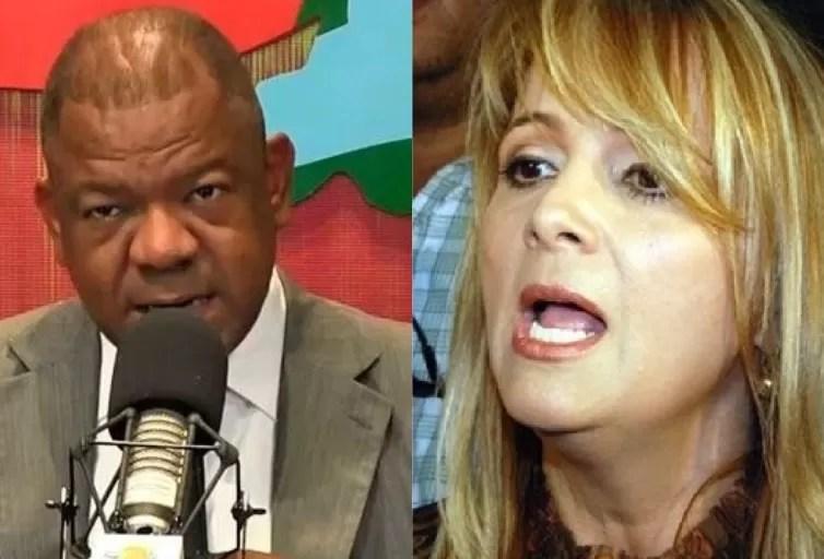 Nuria Piera y Julio Martínez Pozo se tiran las cajas y los cajones