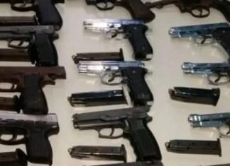 Dice hombre sorprendido con 22 armas que 20 pertenecen al ayuntamiento de La Vega