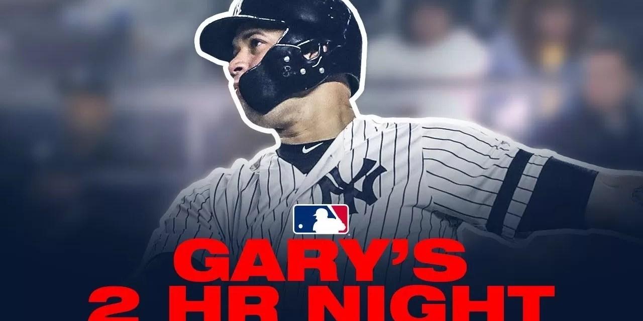 Yankees explotan con cinco jonrones y vencen a Rangers 10×1