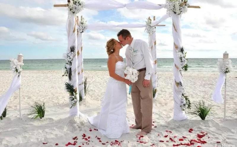 Los 5 destinos preferidos por los turistas para realizar sus bodas en RD