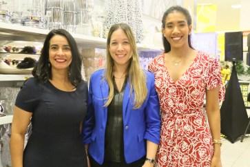 Jenny Vásquez, Idelisa Messina y Escarlen Vásquez