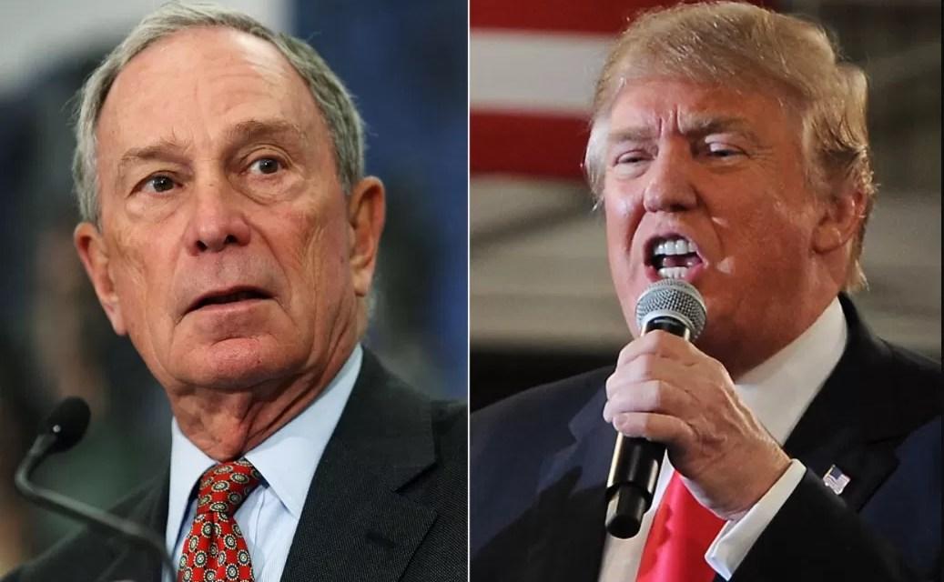Bloomberg gasta USD 100 millones en publicidad contra Trump