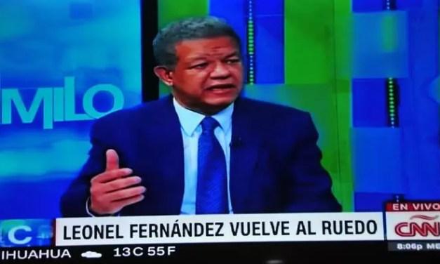 Leonel insiste que Gonzalo es un candidato ilegitimo por anomalías en las primarias