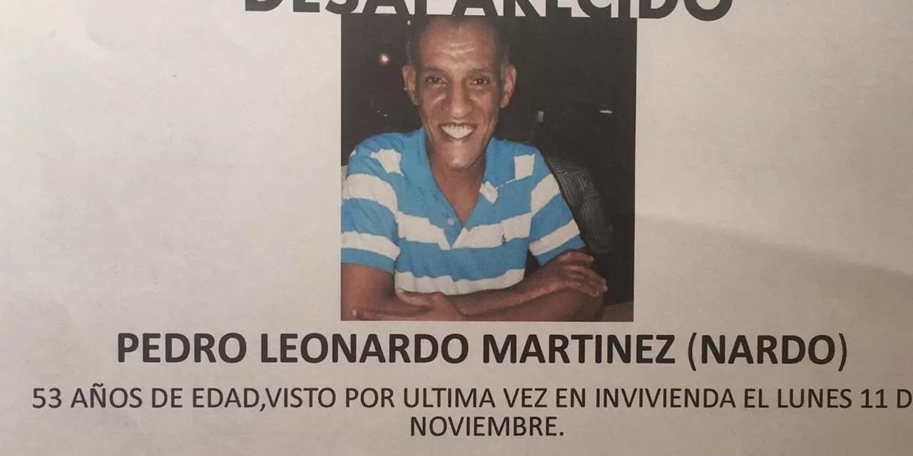 ¿Han visto a Pedro Leonardo Martínez?