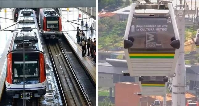 Nuevos horarios del Metro y Teleférico