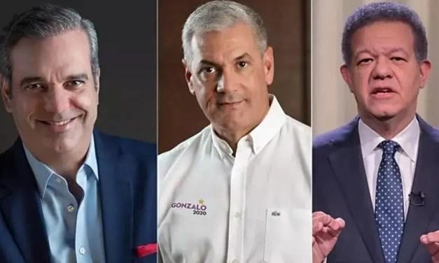 Encuesta de El Brifin: Luis Abinader 63.8%, Gonzalo Castillo 15.9%, Leonel Fernández 8.7%