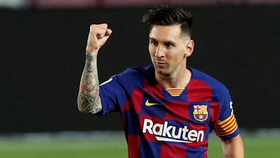 """""""Me encantaría que Messi se quedara"""" en el Barcelona, asegura Luis Suárez"""