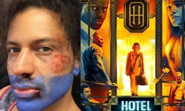 Hotel Artemis entra en la lista de películas de culto, y un dominicano forma parte de ella