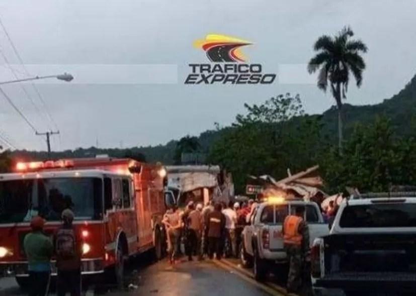 Accidente de tránsito en Puerto Plata deja varios muertos