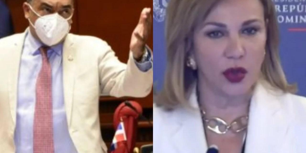 """Senador: Milagros Germán gastó $180 millones en un mes en el DICOM"""""""