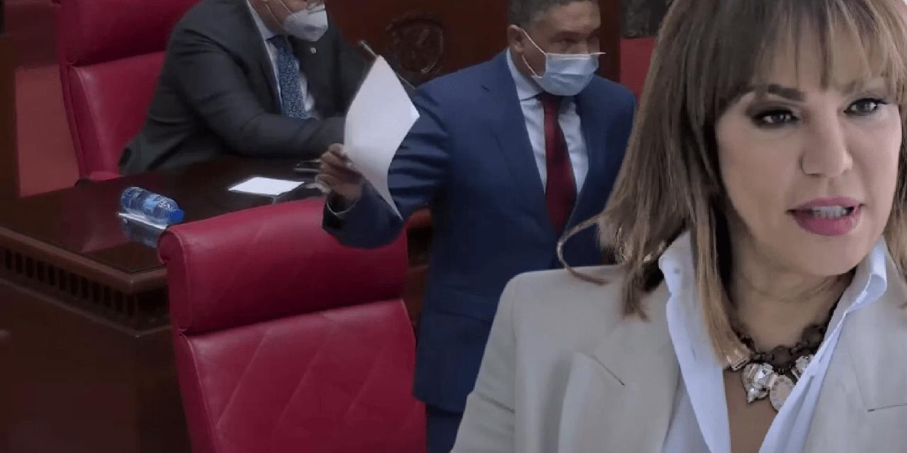 Senador del PLD se la devuelve a Milagros Germán