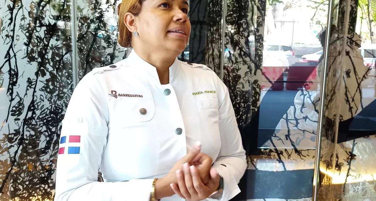 """María Marte proclama """"La gastronomía es fuerza económica crucial para el turismo y el país"""""""