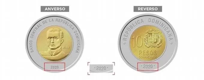 Banco Central anuncia circulación de una nueva moneda de RD$10.00