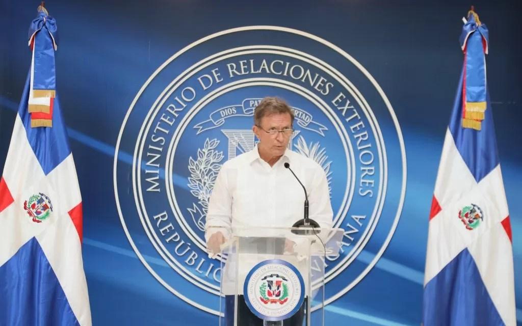 RD pide apoyo internacional para promover diálogo interno en Haití