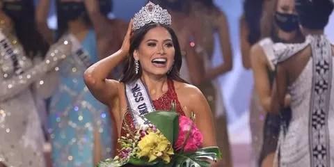 La mexicana Andrea Meza, nueva Miss Universo