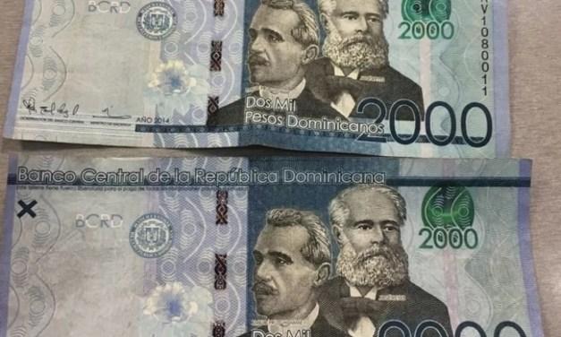 Banco Central hace aclaración sobre billete de RD$2000