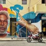 El mural que honra la memoria de Luis Días, en Ciudad Nueva