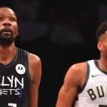 De la mano de Durant, los Brooklyn Nets doblegan a los Milwaukee Bucks y se ponen 2-0 arriba en el Este