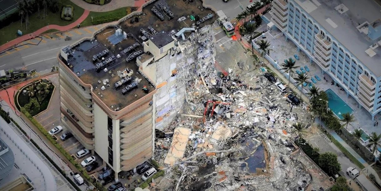 Florida pone fin a búsqueda de supervivientes tras derrumbe de edificio