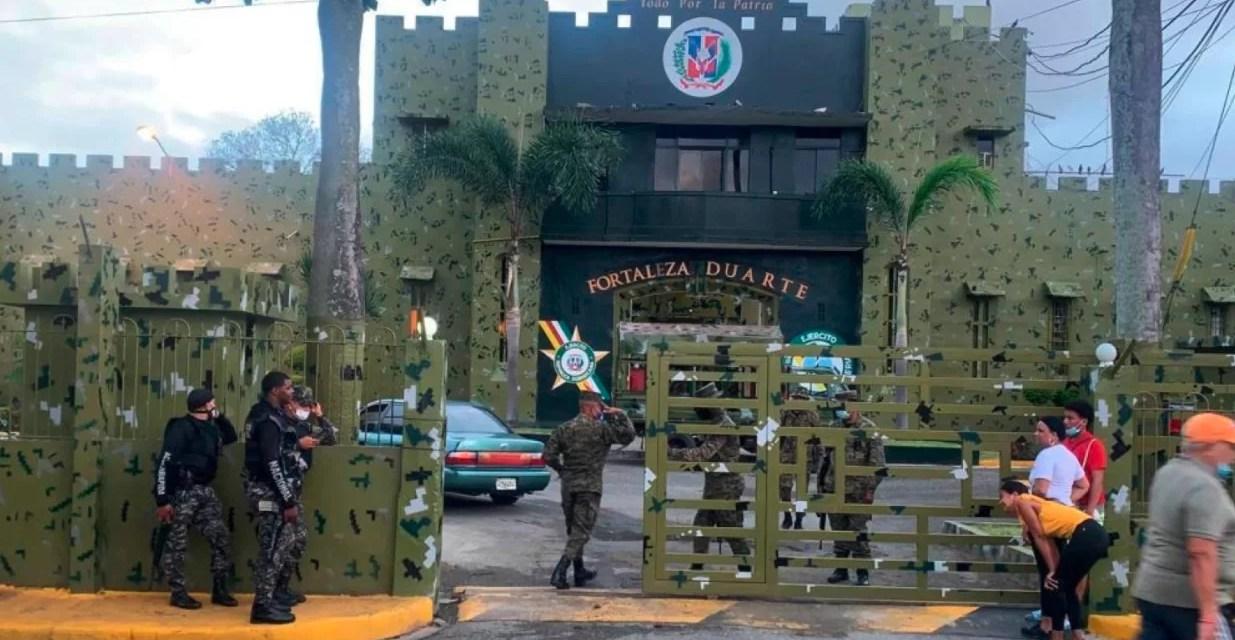 Imponen medida de coerción contra el interno que mató a otro en la Fortaleza Duarte