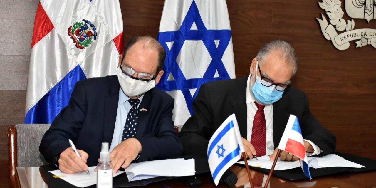 República Dominicana e Israel firman acuerdo de cooperación para la tecnología y la agricultura