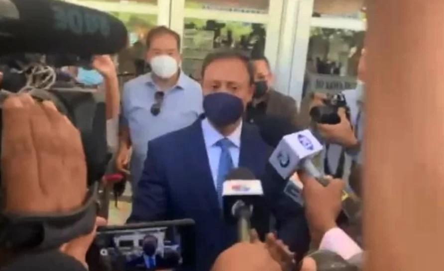 Jean Alain Rodríguez ya llegó a la Procuraduría