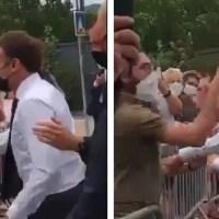 Lo que pasará con el hombre que abofeteó al presidente de Francia