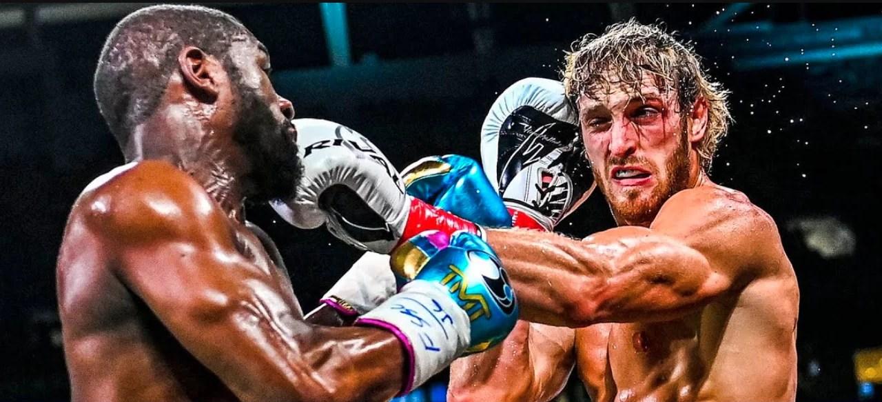 Mayweather dominó pelea contra Logan Paul