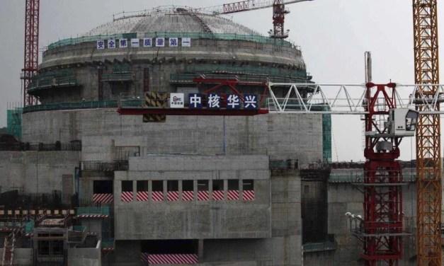 Un reactor nuclear chino se encuentra bajo vigilancia