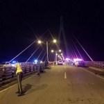 Tres muertos y varios heridos en accidente sobre puente Mauricio Báez en SPM
