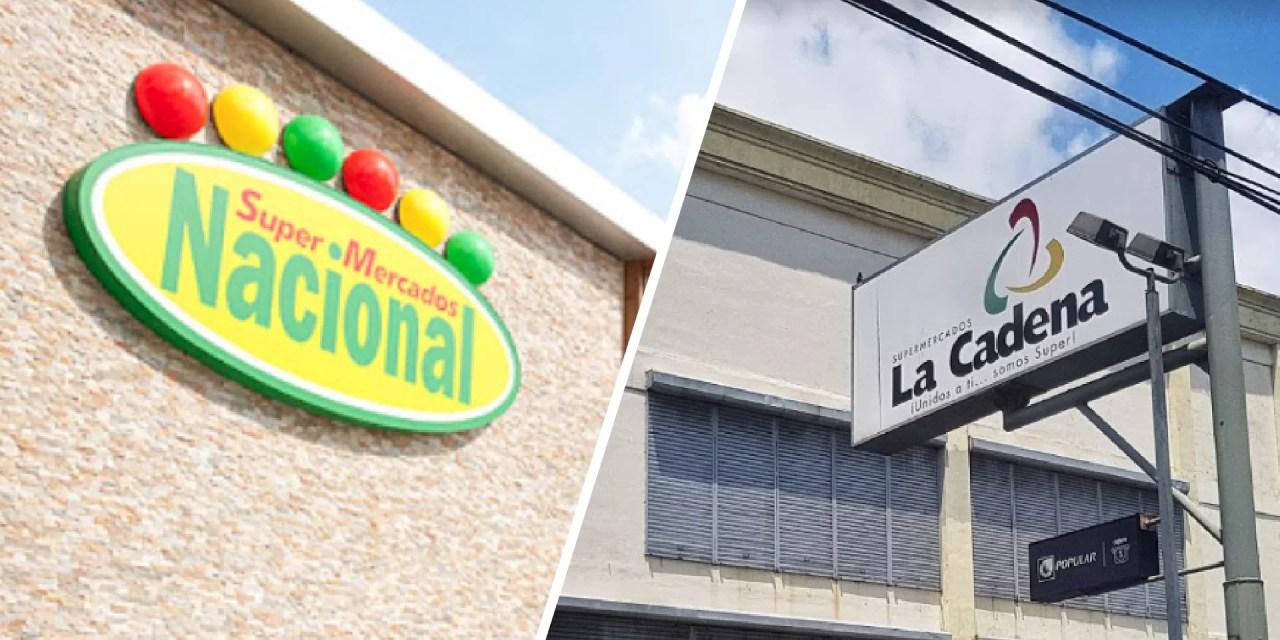 Supermercados Nacional adquiere dos sucursales de La Cadena