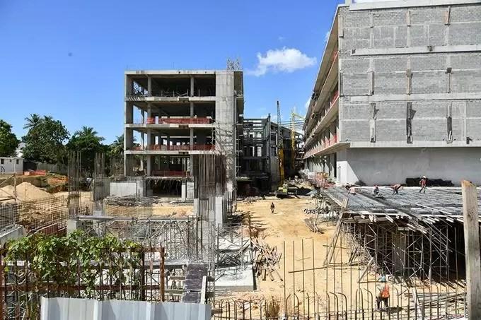 Así va la construcción del Palacio de Justicia SDE