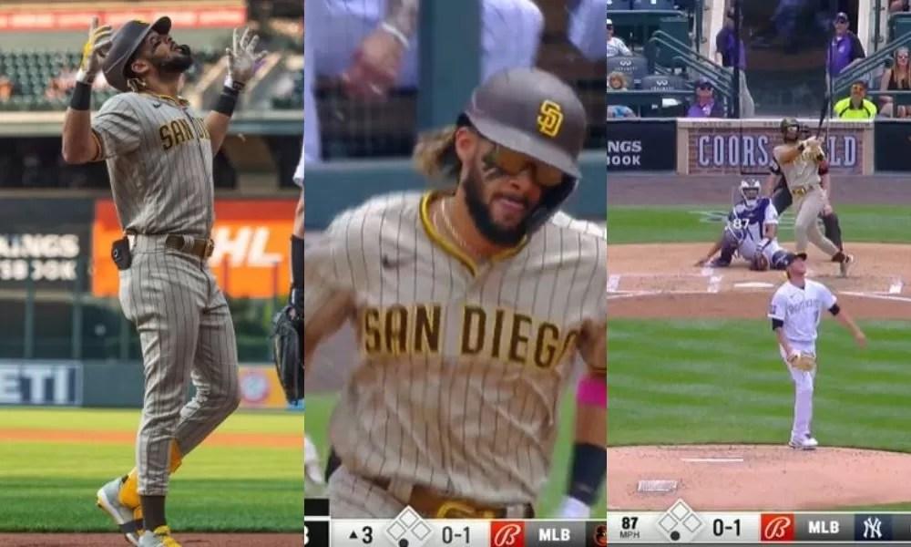 Video: Fernando Tatis Jr. despacha jonrón número 21 de la temporada