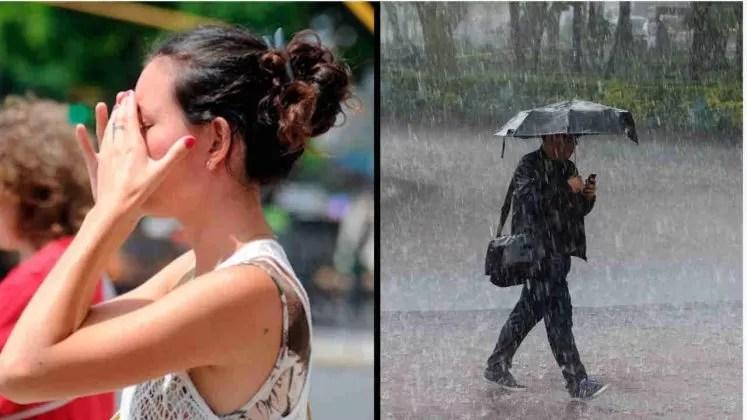 Onamet: Mucho calor y mucha agua para hoy domingo